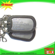 Logo Embossed Metal Dog Tag Military Tag