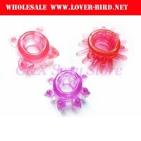 Silicone Cock Rings elaying Ejaculation Rings, Penis Ring, Fleible Glue Cockring, sex Toy Products Adult Toys+2Pcs/Lot Penis