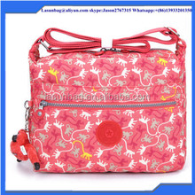 Fashion Ladies Sport Bag Durable Washed Nylon Single Strap One Shoulder Bags for Sports