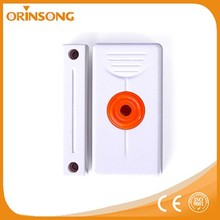 Magnetic contact and panic button wireless gsm based burglar alarm system