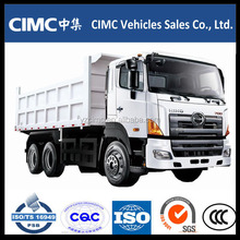 new type Heavy duty 30T hino 6*4 side dump truck for sale
