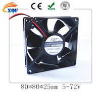 12V dc air cooling fan , dc electric fan 80x80x25mm