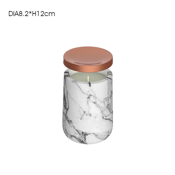 Customized FDA test ceramic cement spice container