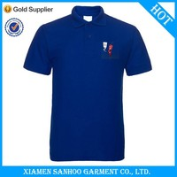 Direct Hot Sale Polo Shirt Stock Embroidery Logo Short Sleeve Supplier Sample Free From China Garment Trading Company