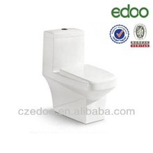 Chaozhou toilet manufacturer Newest Elegant design Ireland style smoothly glazing one piece square toilet sanitary ware