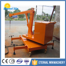 2TON Foldable engine crane small mobile shop crane for sale