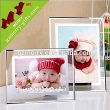 Nice quality crystal glass picture photo frame