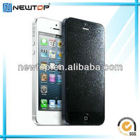 cell phone skins diamond screen guard for Iphone 5