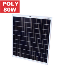 SAKO Chinese Top PV Supplier Portable 80W Poly Solar Panels For Home