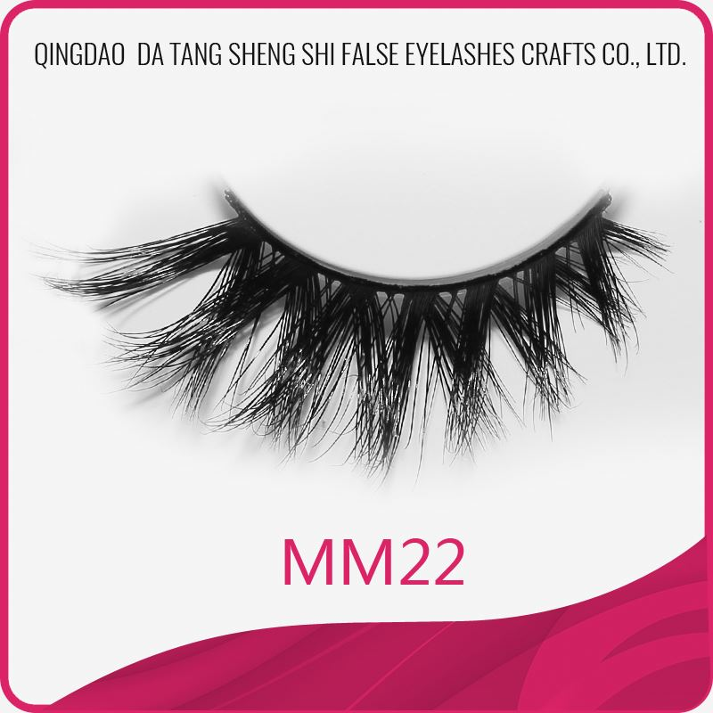 Large stock 100% siberian 3d faux mink for strip eyelashes