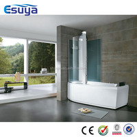 Freestanding transparent bath tub