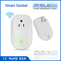 for apple and android phones smart wifi app controlled american travel socket plug