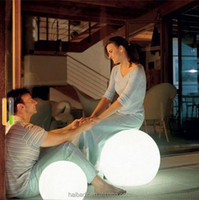 China Supplier floating led illuminated swimming pool ball light From China