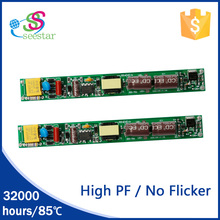 Seester manufacturer high pf tube driver 120ma 240ma 9w led power supply non-flicker for led tube