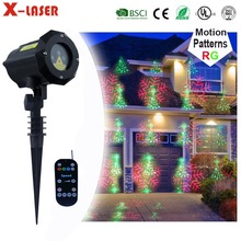 Garden Tree Patterns Red Green IP65 Waterproof led star effect stage lighting home laser light show projector