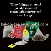 OEM Hot Seal Filter Paper Tea Bag Paper Coffee Bag Biodegradable Pyramid Tea Bag