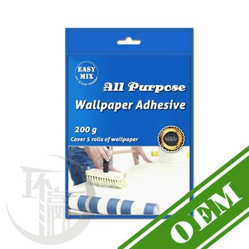 opp packing wallpaper glue powder