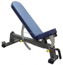 Crossfit Adjustable Bench/Fitness weight lifting bench/Utility bench