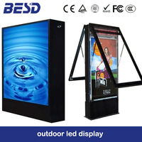 small size LCD/LED billboard signbaord outdoor LED light box