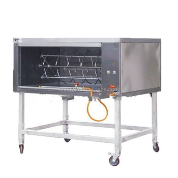 Commercial Gas Whole Pig Rotisserie Oven