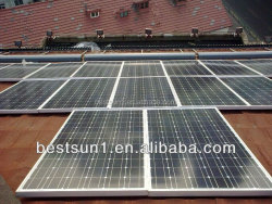 15000w High quality off grid auto switch solar power plant