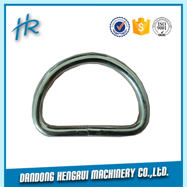 "Professional Manufacturer 6mm 1/4"" Stainless Steel D Ring"