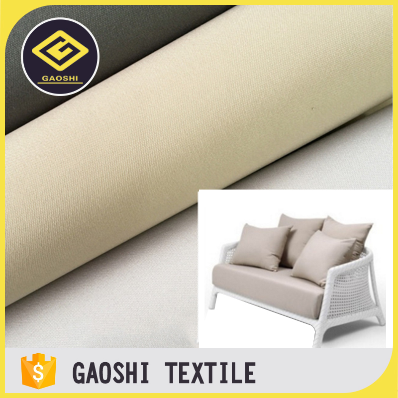 Popular New Designed Pu Backing Polyester Oxford Waterproof Fabric for Outdoor Furniture Sofa Cushions Cover