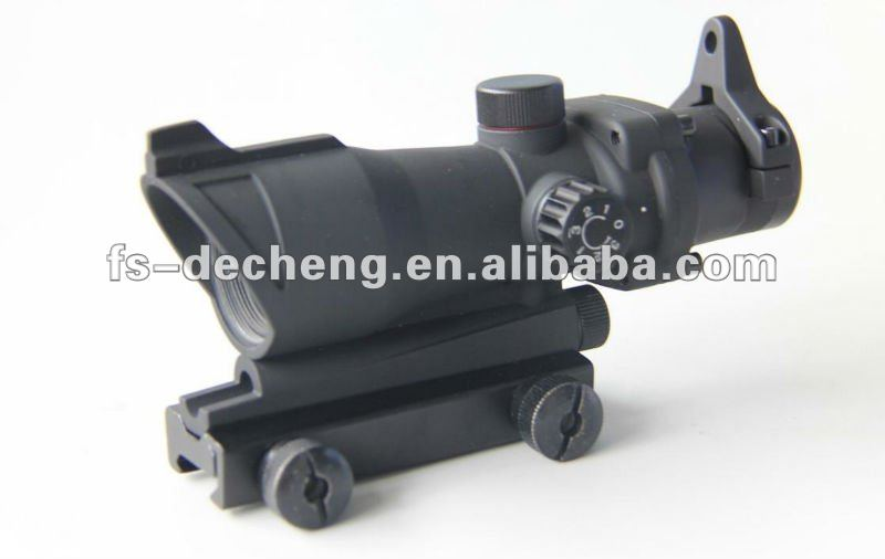 1X32 tactical scope with red dot and green dot for airsoft
