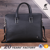 Guangzhou wholesales men's shoulder bags briefcase used PU leather briefcase