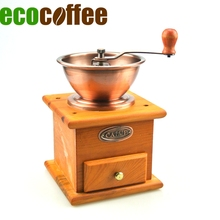 grinder manual Eco Coffee BM-93 Classic Manual Coffee Grinder Metal Burr Mill for Coffee Bean Free shipping to Some area