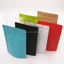 heat sealable aluminum foil sachets/matt black coffee bags