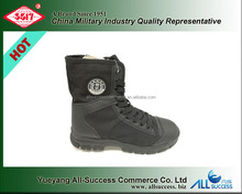 3517 factory price MD outsole nano leather and compound fabric upper police duty and training boots