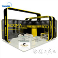 Wooden trade show equipement display demostration selling promotion stand