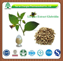 GMP factory supply high quality Licorice extract glabridin CAS NO 59870-68-7