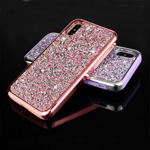 Crystal Diamond Case Rhinestone Case Luxury Bling Glitter Case For iPhone 7 Plus