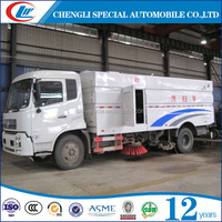 DONGFENG 10M3 Road Sweeping Truck 10CBM Vacuum Sweeper Truck For Sanitation