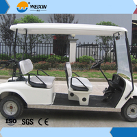 Gas Powered 4 Person Golf Cart