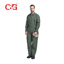Attractive Option fire clothing proof flight aramid pilot suit coveralls