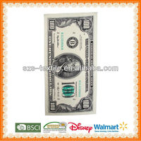 Hundred Dollar Bill Printed Beach Towel