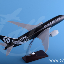 43cm resin boeing B787 New Zealand collectible true to scale 1/150 aircraft model for Australia