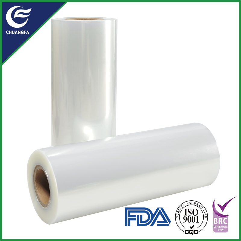 Clear heat food shrink plastic pallet stretch film