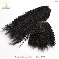 Alibaba Certified Own Brand Double Weft 100% New Original virgin indian grey hair naturally curly