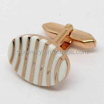 Professional Cuff Links & Tie Clips Factory OEM Accepted Soft Enamel Engraved Logo Cufflink