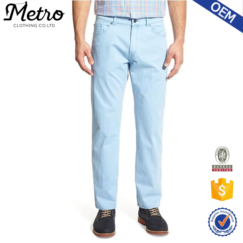 2015 OEM Wholesale Garment Factory Trousers, Latest Trousers For Men