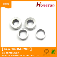 Manufacturers custom Cheap hot sale sintered alnico hard ring magnet