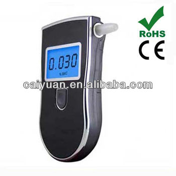 digital professional mouthpiece breathalyzer alcohol tester