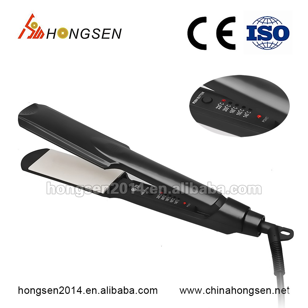 2017 innovation ceramic heating elements luxury hair salon equipment for straight hair