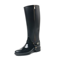 TONGPU fashion new style women shoes high quality pvc rain boots