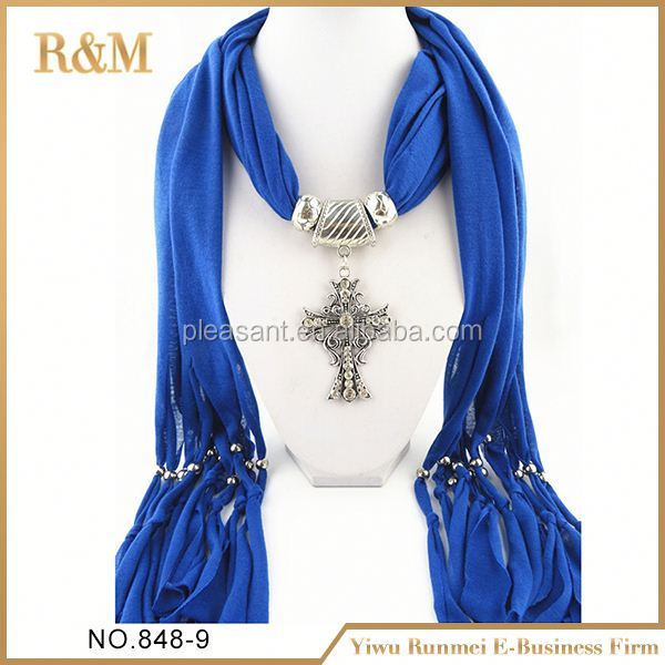 2016 wholesale wholesale scarf with jewels