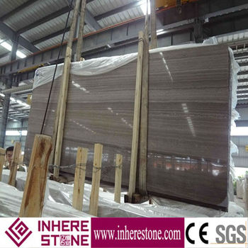 coffee wood marble slab wall tile for table top
